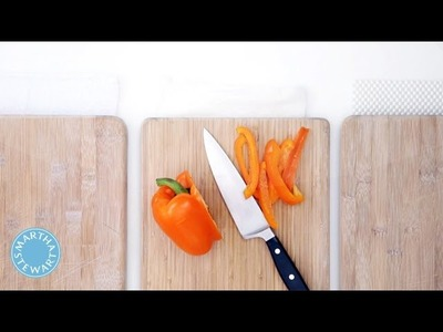 How to Prevent Your Cutting Board From Sliding with Martha Stewart