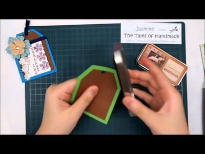 Paper Tag. Bookmark Tutorial