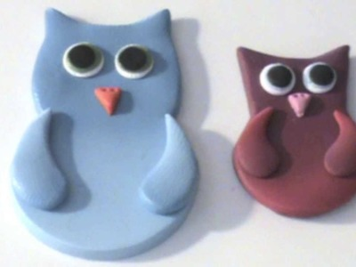Polymer Clay Owls Using Skinner Blend - Polymer Clay Tutorial