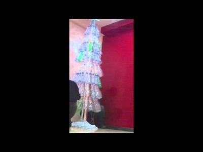 Recycled Christmas tree time-lapse