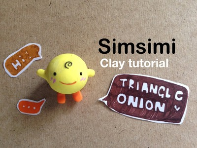 Sim Simi (yellow) Polymer clay tutorial by triangleonion
