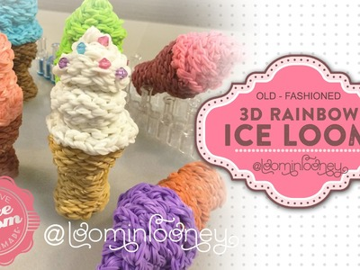 Soft Serve Ice Loom: : 3D Rainbow Ice Loom Series