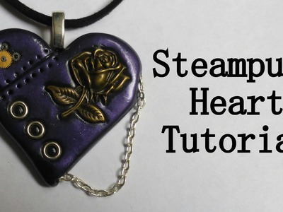 Steampunk Heart - Polymer Clay Tutorial
