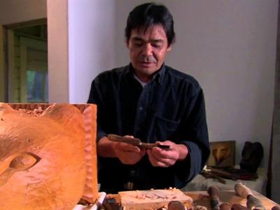 Woodcarver Masamichi Nitani explains how he designs his tools