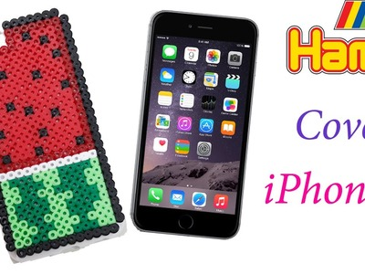 Cover iPhone 6 Hama Beads ♥ Phone Case with Perler Beads Tutorial ‎