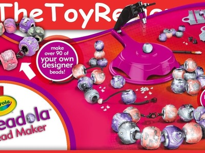 Crayola Beadola Bead Maker Charm Creator Bracelet Unboxing Tutorial by TheToyReviewer