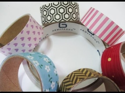 DIY : #105 Easy HOMEMADE Washi Tape ♥