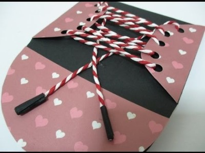 DIY : #91 Mini Shoes Notebook ♥