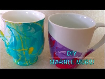 DIY crafts | Marble Mug