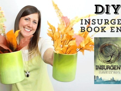 DIY: How To Make Insurgent Book Ends