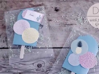 DIY: Invitations by Søstrene Grene