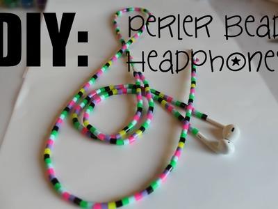 DIY: Perler Bead Headphones