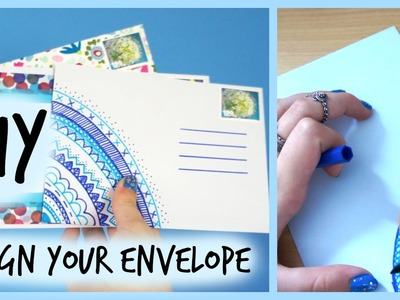 DIY - Send A Beautiful Letter.Envelope To Your Pen Pal