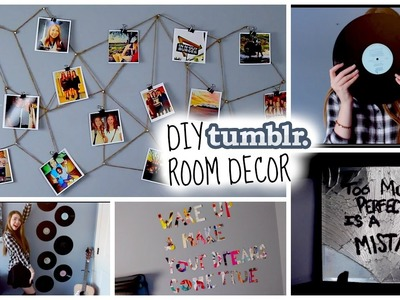 DIY Tumblr Inspired Room Decor!! Cute & Cheap! Make your room look tumblr!♡