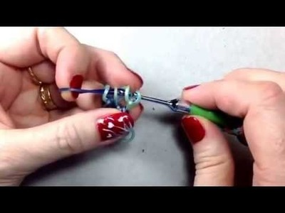 Even Steven bracelet tutorial (hook only) rainbow loom bands