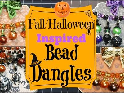 Fall.Halloween Inspired Bead Dangles!