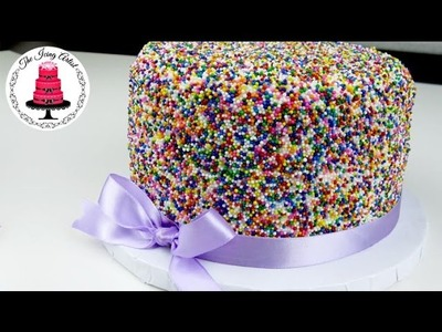 Funfetti Rainbow Sprinkle Cake - How To With The Icing Artist