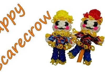 Happy Scarecrow Tutorial by feelinspiffy (Rainbow Loom)