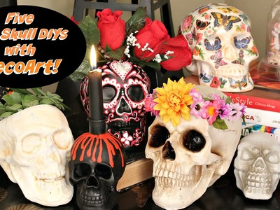 HOW TO: Five Skull DIY's for Skulloween