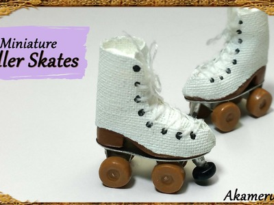 Miniature Doll Roller skates - Polymer Clay Tutorial