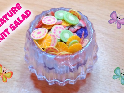 Miniature Fruit Salad - DIY LPS Crafts, Easy Doll Crafts & Dollhouse Accessories