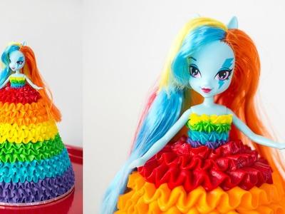 'Rainbow Dash' My Little Pony Doll Cake - CAKE STYLE