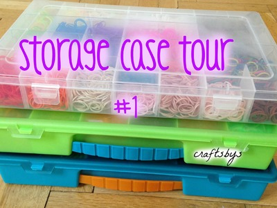 Rainbow Loom Storage Case Tour #1