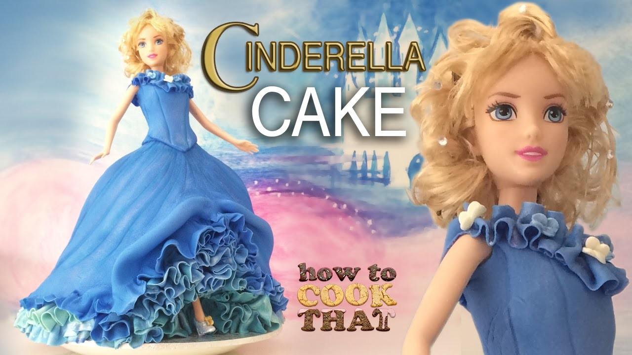 CINDERELLA CAKE TUTORIAL How To Cook That Ann Reardon