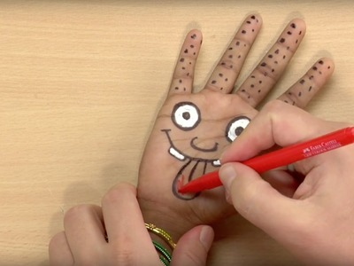 Craft Ideas For Kids - Handpuppet | World Of Art | Øistein Kristiansen