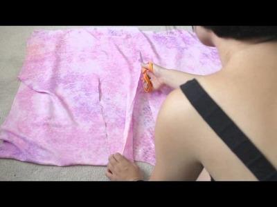 DIY No Sew Kimono