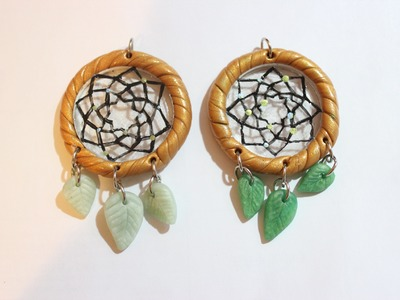 DIY Polymer Clay.Resin Dreamcatcher Tutorial