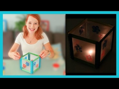 ★ DIY Tea Light Lantern ★  Made By Mommy September Craft Challenge