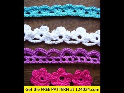 Easy crochet edging for beginners