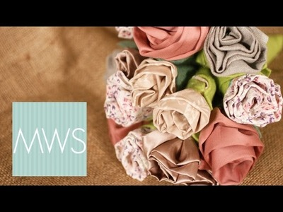 Fabric Flower Bouquet: Maid At Home S02E4.8