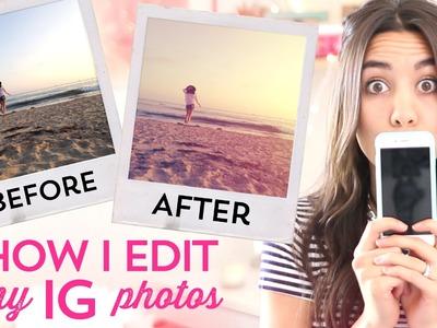 How I Edit My Instagram Photos!