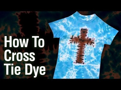 How To Make a Tie Dye Cross