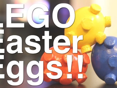 How to Make: Lego Easter Eggs!!