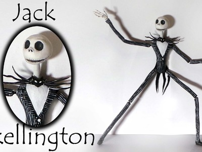 Jack Skellington Inspired Doll - Polymer Clay Tutorial
