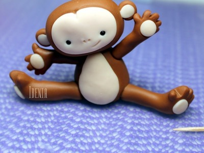 Making a Clay Monkey - Cold Porcelain Designs