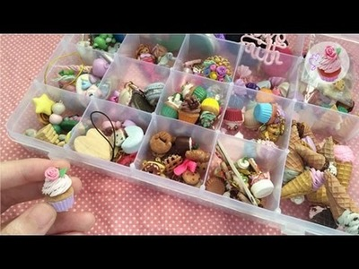 Polymer clay charm collection 2015