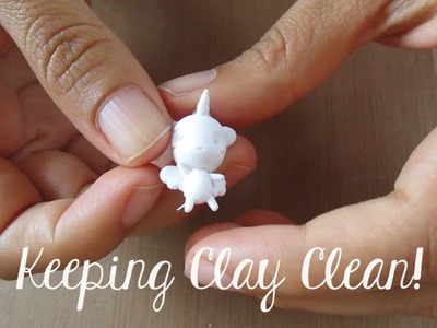 Polymer Clay Tips: Keeping Clay Clean and Smooth
