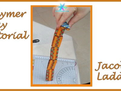 Polymer Clay Tutorial - Jacob's Ladder - Lesson #41