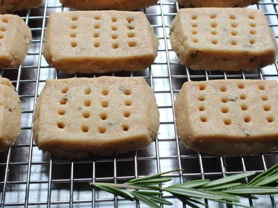 Rosemary Shortbread Cookies - How to Make Shortbread Cookies