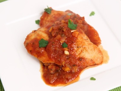 Salsa Chicken Recipe - Laura Vitale - Laura in the Kitchen Episode 709