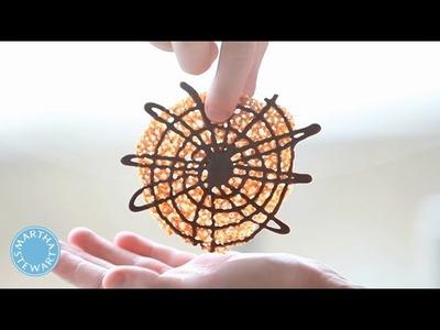 Spiderweb Florentines - Kitchen Wisdom - Martha Stewart