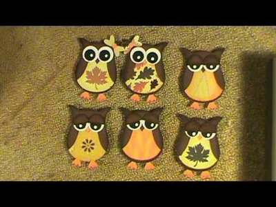 Stamp-in Up Owl Punch Part 1