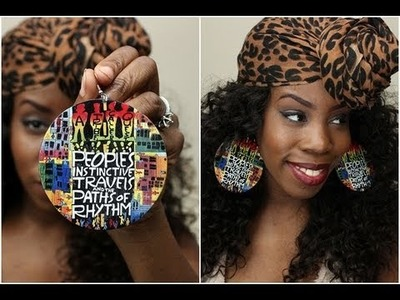 The BOMB Hand-Painted Earrings ♦ Totally Different