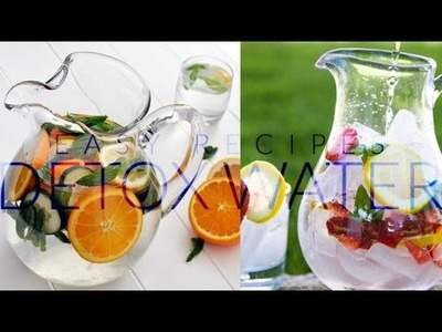 3 Detox Water Recipes! (My Favorites) | Charmaine Dulak