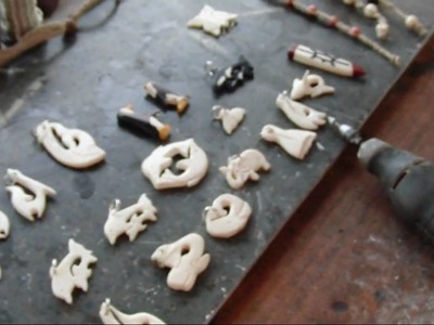 Bone Carvins and more by Oh-ka-noi.