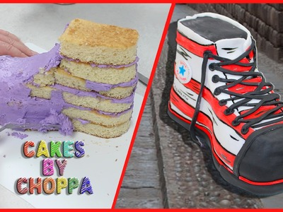 Converse Allstar shoe Cake | Dr Seuss Inspired (How To)